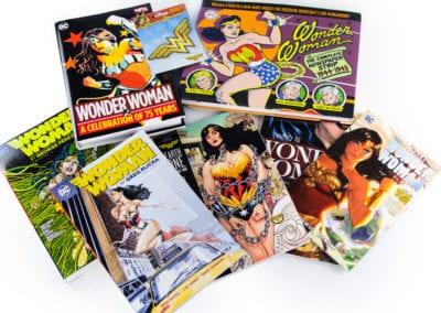 Wonder Woman Comics Signed by Patty Jenkins