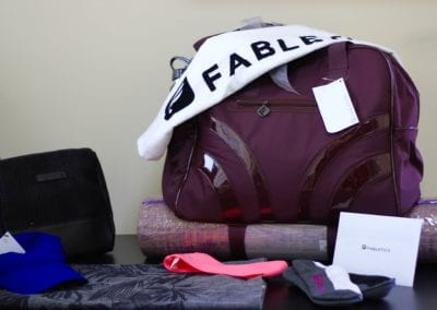Fabletics Swag Bag