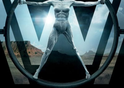 Signed Westworld Poster