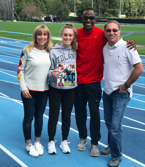 ACFE Silent Auction Winner gets Training Session with Pro-NFL legend Willie Gault